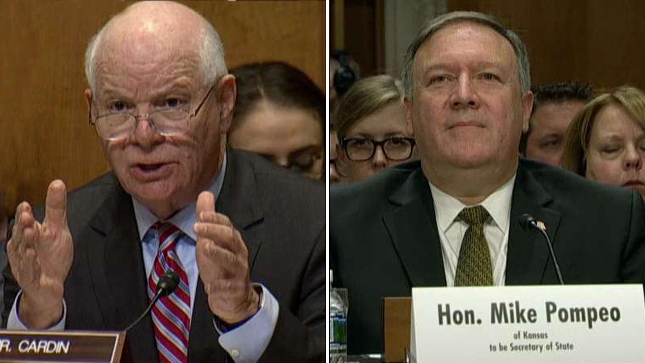 Sen. Cardin presses Mike Pompeo on fate of Iran nuclear deal