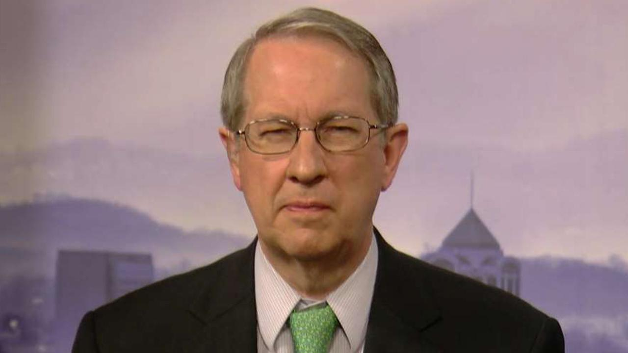 Rep. Goodlatte on 'Sunday Morning Futures' explains Republican push to receive un-redacted Comey memos as wells as documents related to potential FISA abuse and the Clinton investigation.