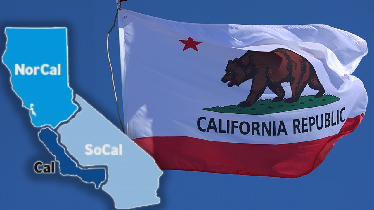 Initiative seeks to split California into 3 separate states