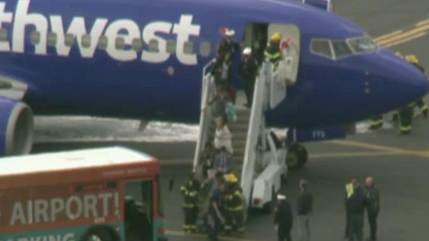 New video from inside flight that made emergency landing