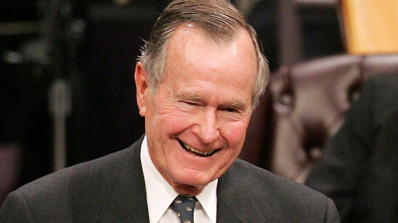 George Herbert Walker Bush took office in 1989 as the 41st U.S. president and served one term in the White House. The father of former President George W. Bush, he was a Naval aviator in World War II, a congressman, ambassador to the United Nations, envoy to China, CIA director and vice president for two terms under Ronald Reagan.