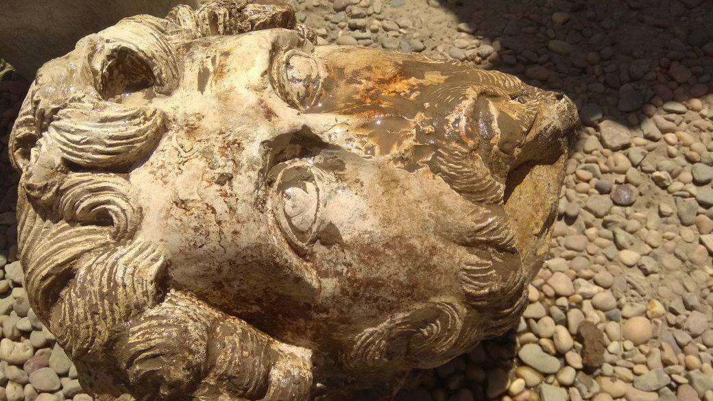 Rare Roman discovery thrills experts: Emperor's marble head found at Egyptian temple site