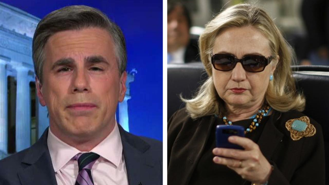 Tom Fitton speaks out about recovered Clinton emails