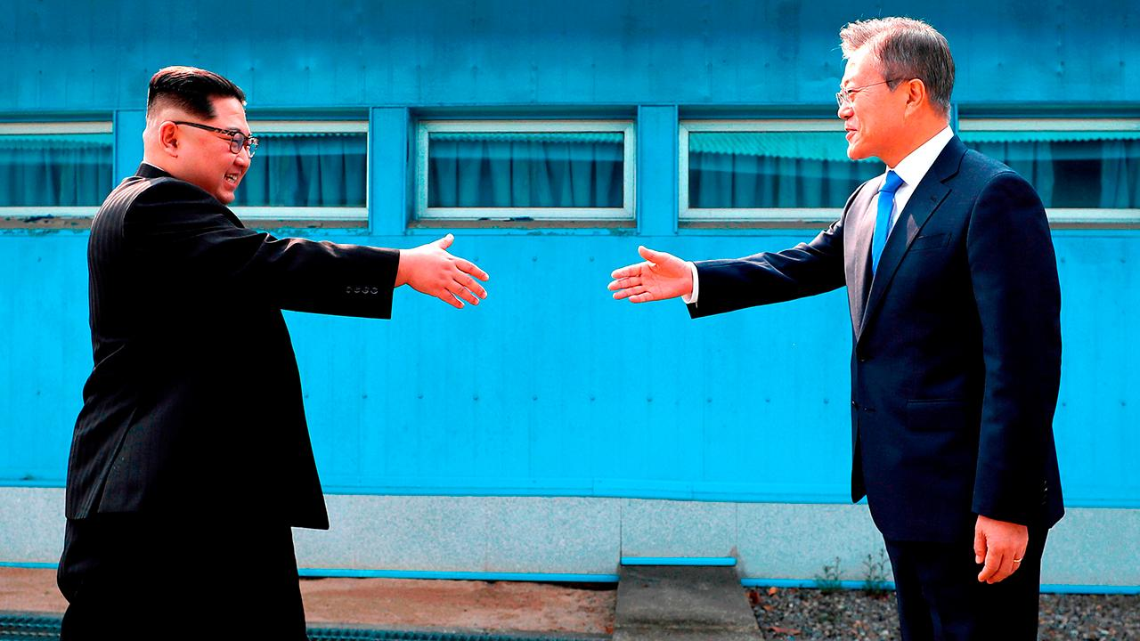 North and South Korea vow to end the Korean War