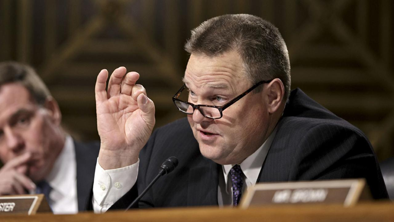 Sen. Tester responds after Trump calls for his resignation
