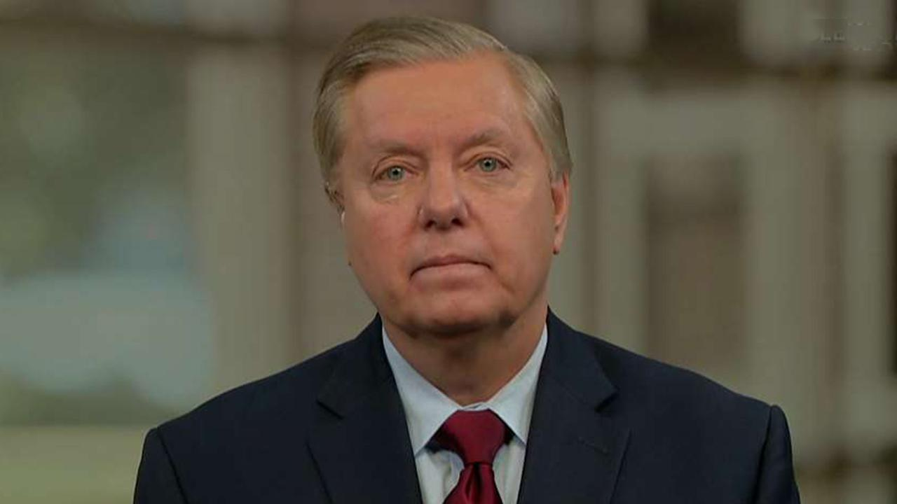 Senator Lindsey Graham reacts to historic meeting between North and South Korea and discusses Trump's foreign policy on 'Sunday Morning Futures.'