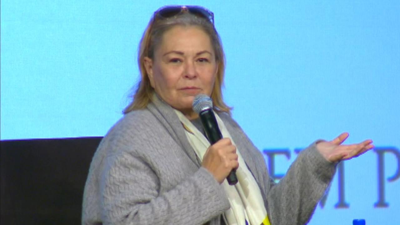 Roseanne Barr talks about her phone call from Trump