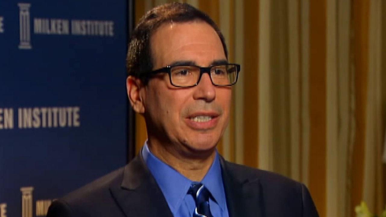 Mnuchin optimistic about upcoming meeting with China