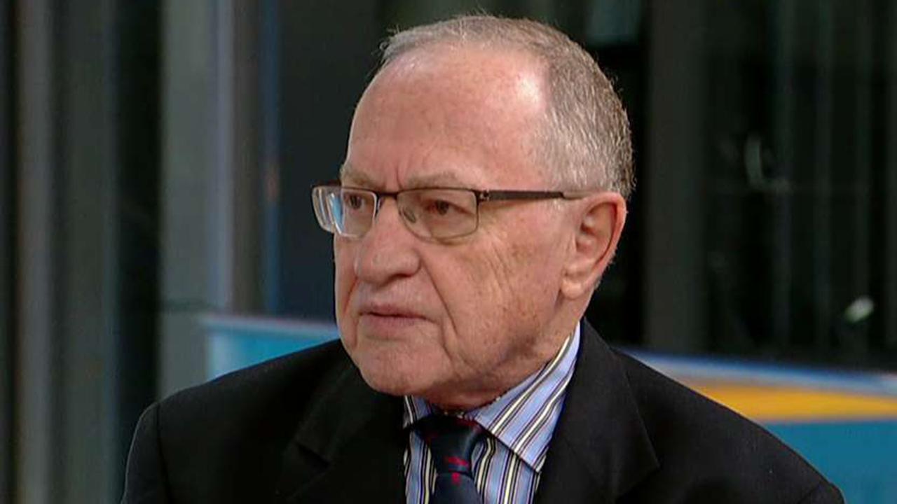 Dershowitz: Mueller probe is treating Trump like mafia boss