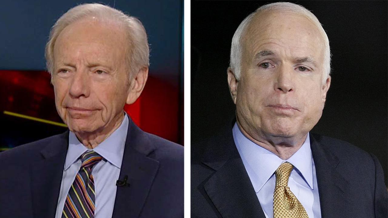 Lieberman: McCain wanted bipartisan ticket to make impact