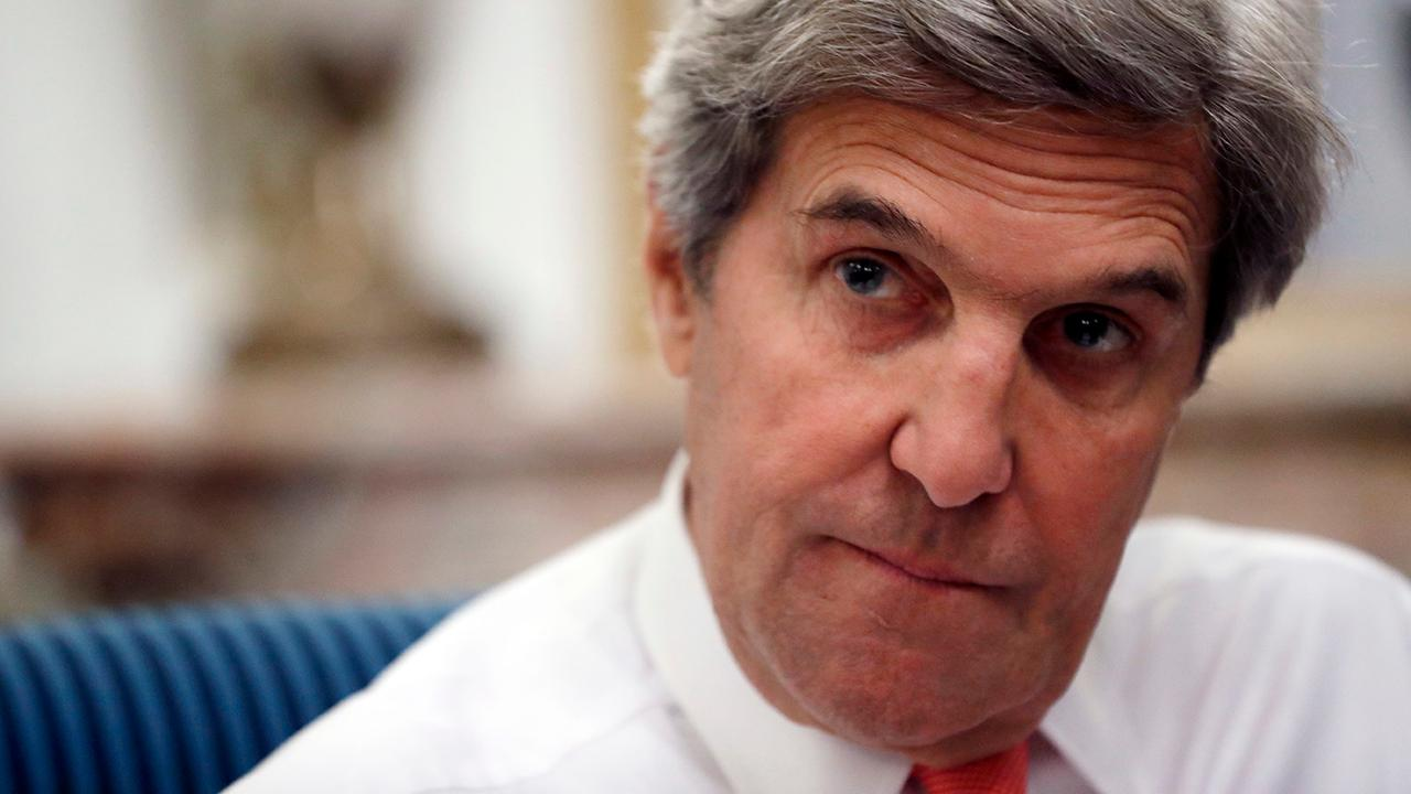 Is Kerry acting like a 'shadow' secretary of state?