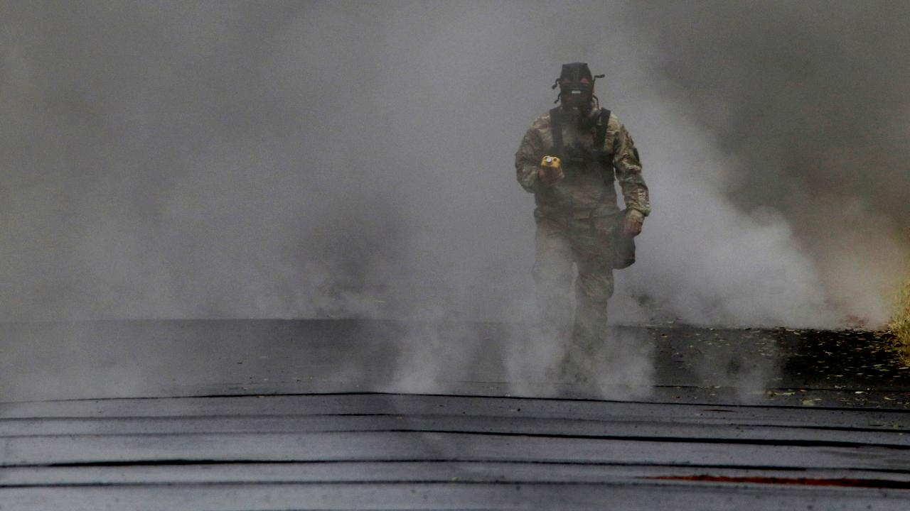 Hawaii's Kilauea volcano: Fissures spewing deadly toxic gas