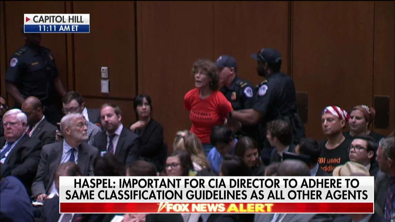 Protester Removed From Haspel Confirmation Hearing