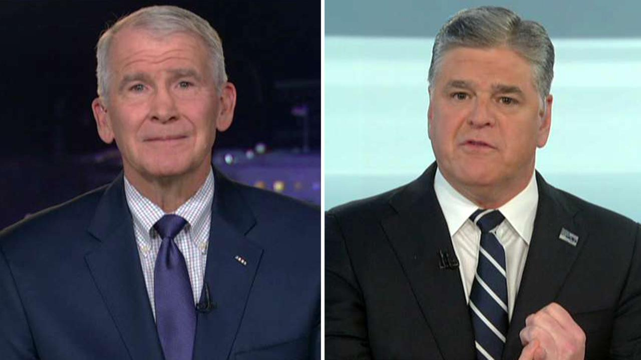 Oliver North: Israeli forces responded to Iranian missiles