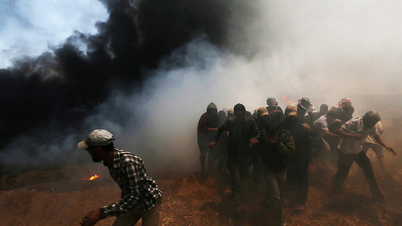 Over 50 dead in Gaza protests, Hamas calls for more violence