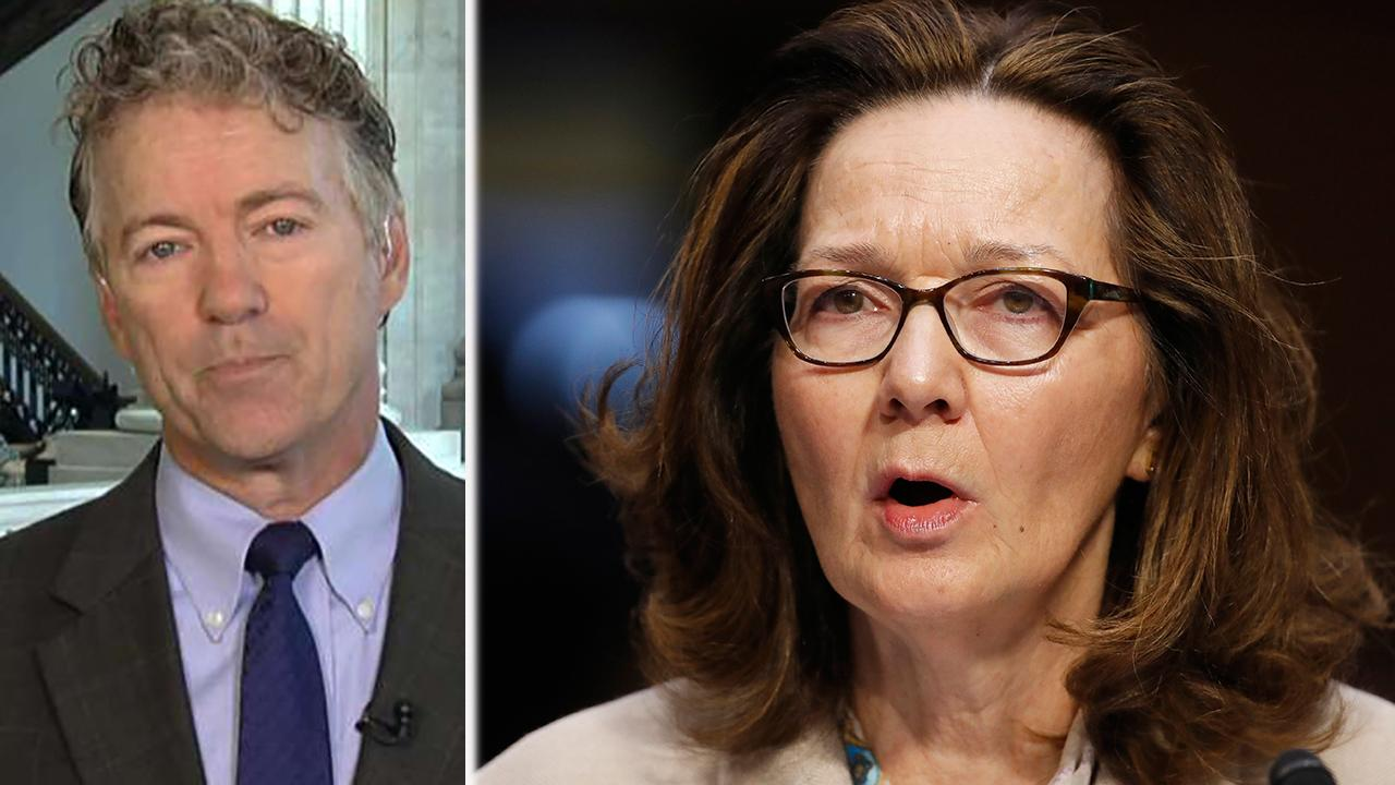 Sen. Paul on opposition to Haspel, White House leaks