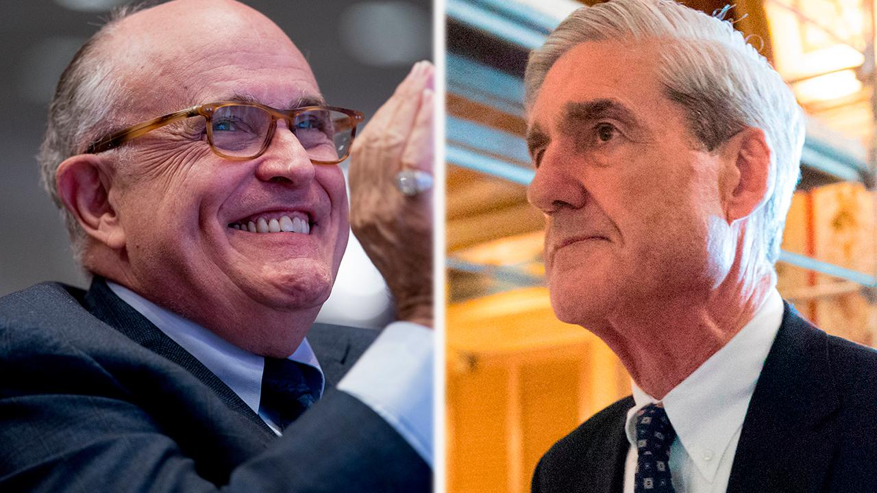 Giuliani: Mueller told Trump team he won't indict president