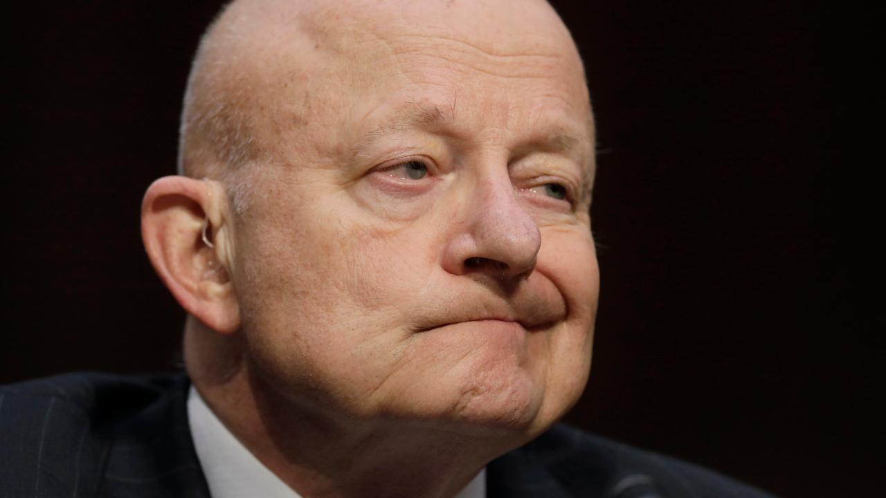 Clapper says it is 'good' if FBI had informant in Trump team