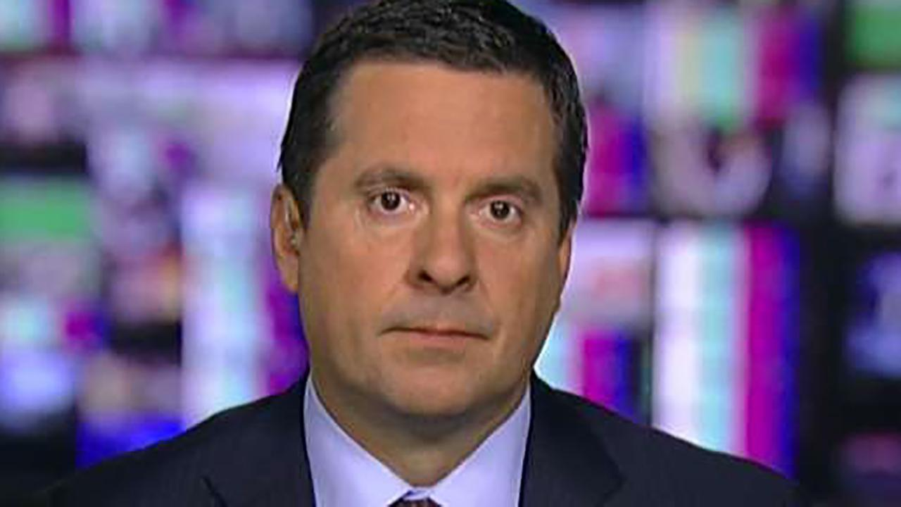 Rep. Devin Nunes on 'Sunday Morning Futures' speaks out about information about the DOJ reported by multiple news outlets regarding a possible informant within the Trump campaign.