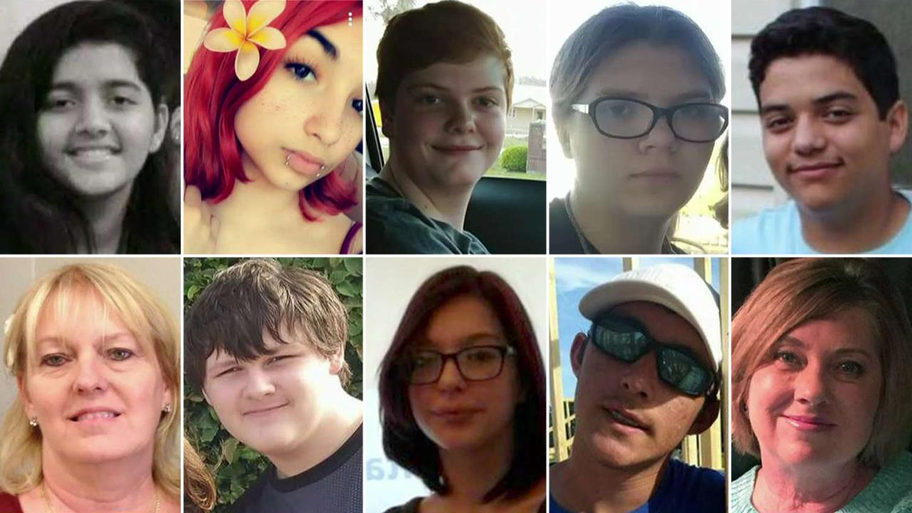 Remembering the victims of the Santa Fe school shooting