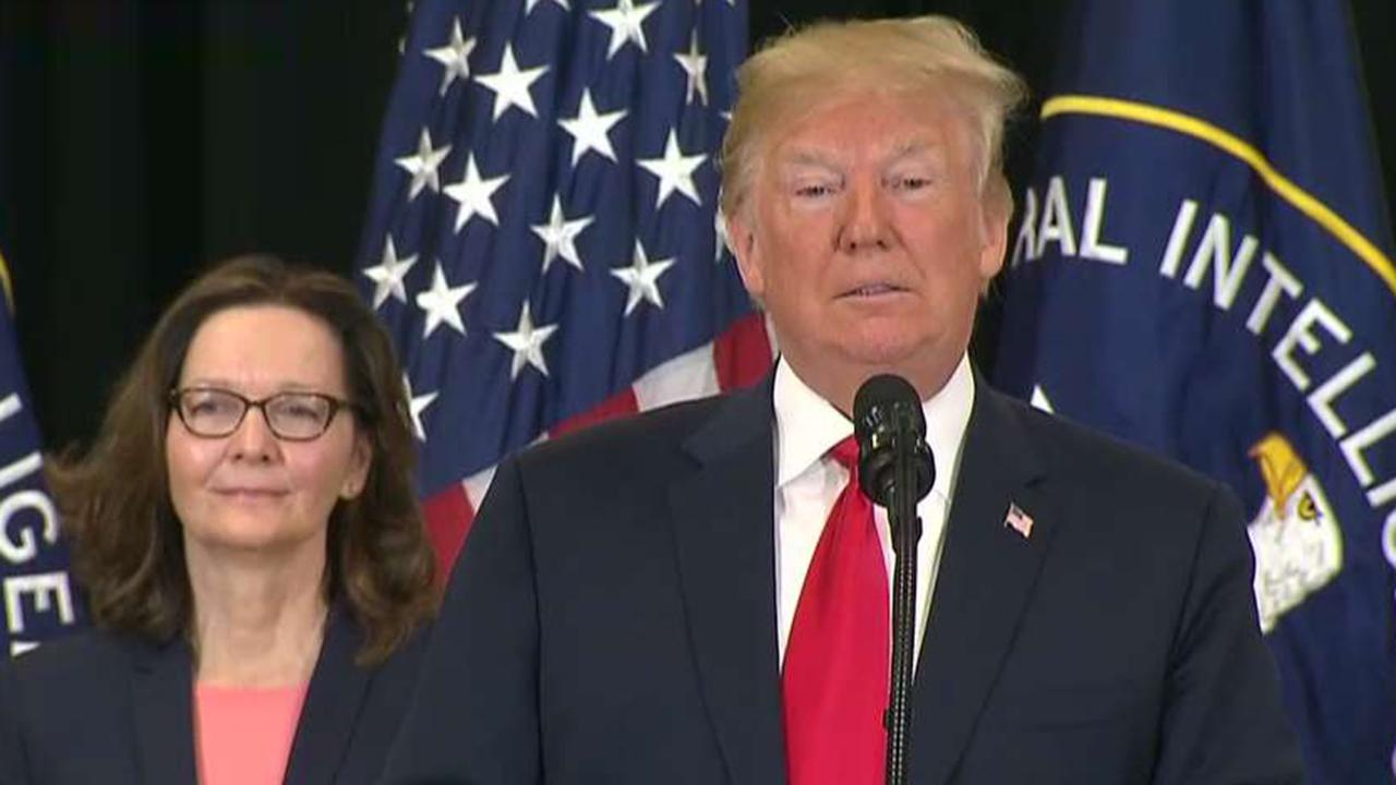 Trump: Haspel becomes first woman to ever lead CIA