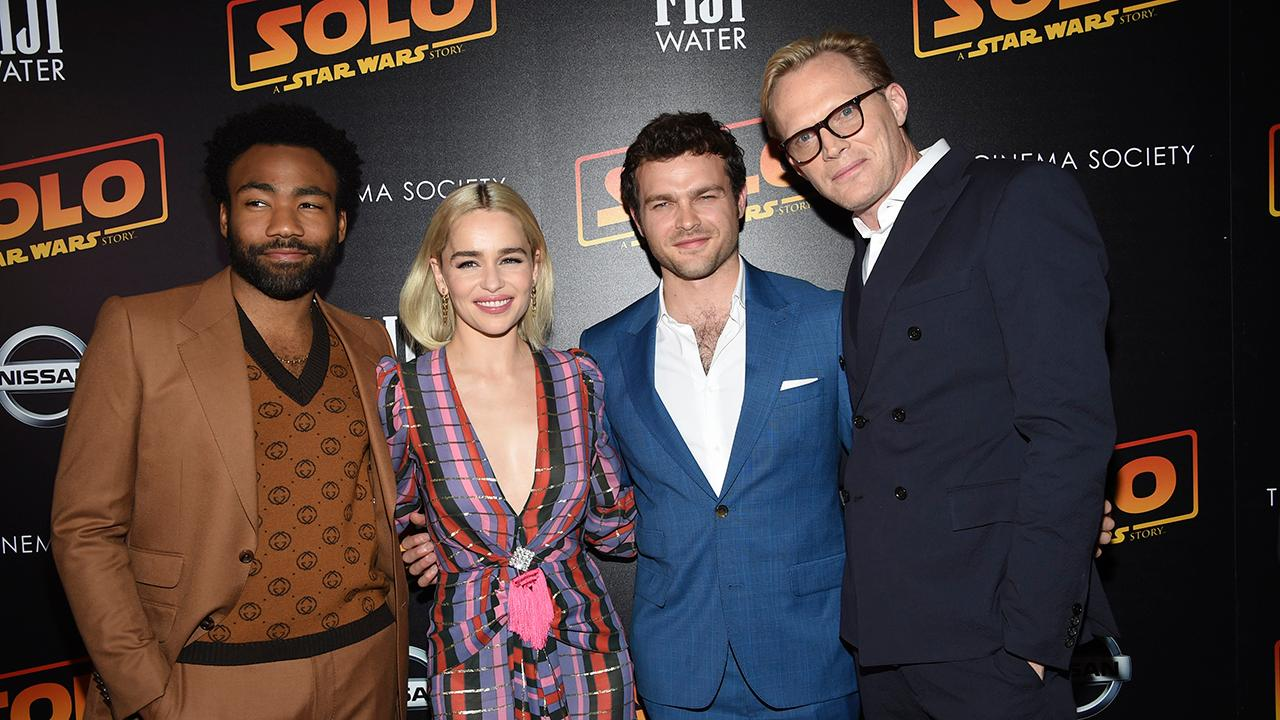 'Solo: A Star Wars Story' cast talks … beer pong