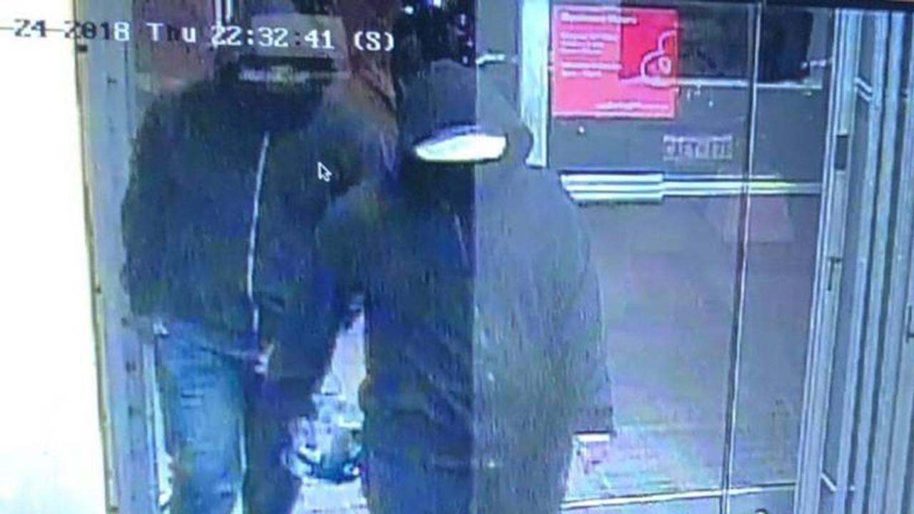 Manhunt underway after bombing at Canadian restaurant