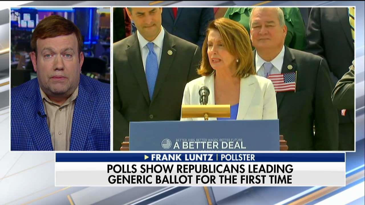 Luntz: Pelosi Is So Unpopular, GOP Could Keep the Majority