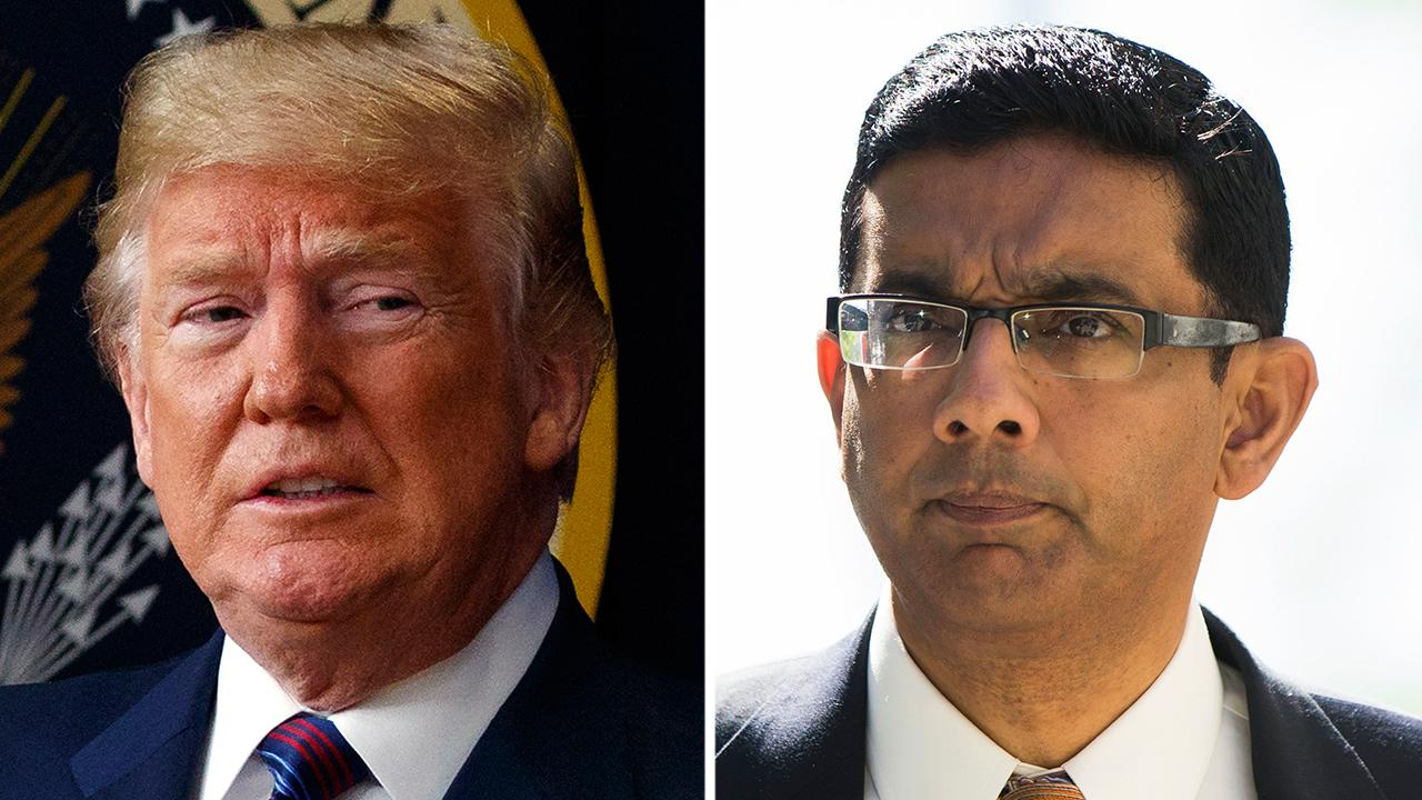 President Trump to give full pardon to Dinesh D'Souza