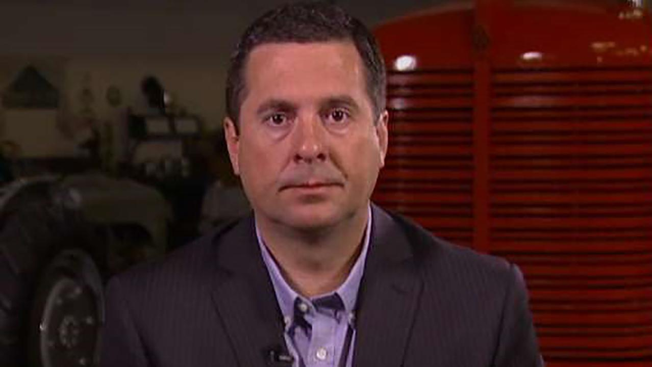 House Intelligence Committee Chairman Devin Nunes says if the Department of Justice fully cooperated and provided House investigators with all of the requested documents the investigation would end.