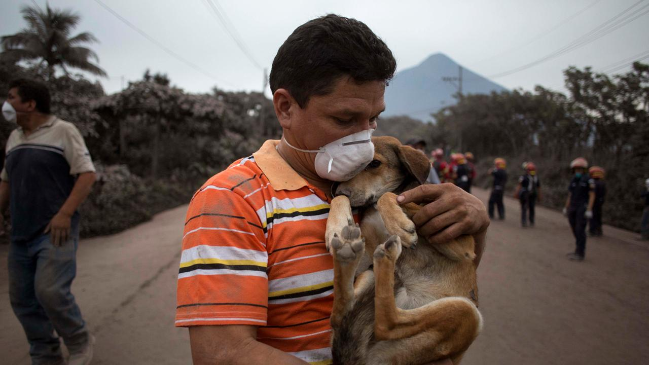 Guatemala volcano eruption kills at least 65; thousands flee