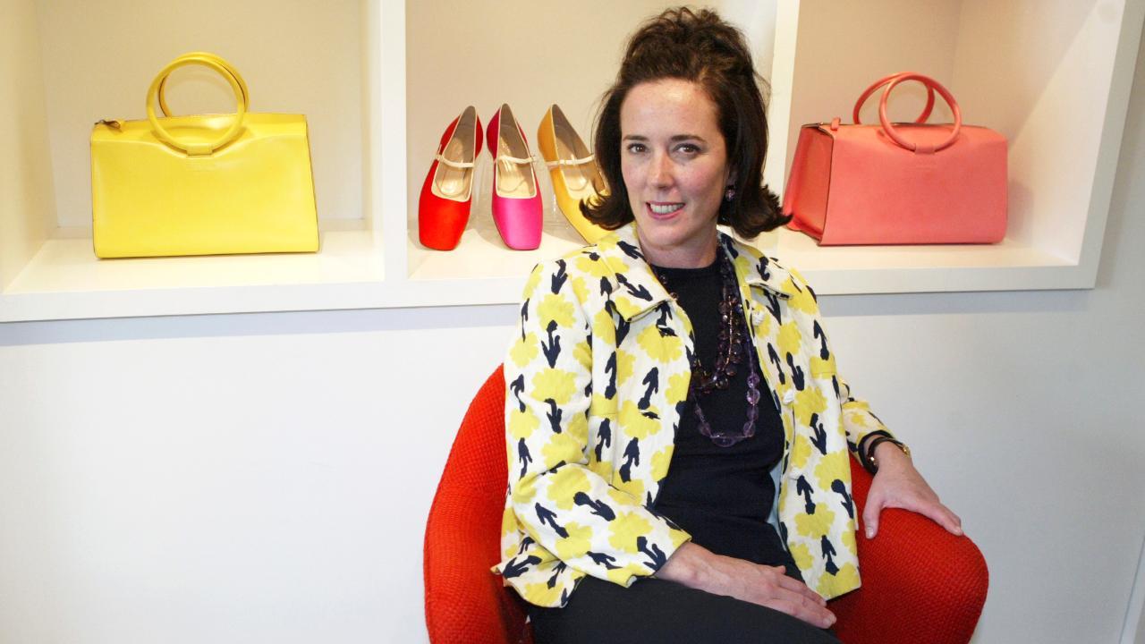 What led fashion designer Kate Spade to take her own life?