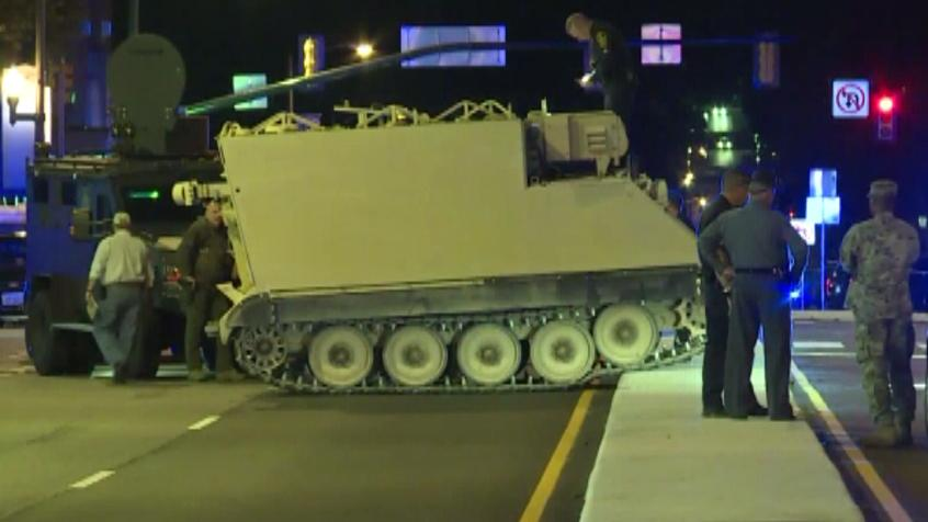 d94c7166c35 Police chase solider who stole military vehicle in Virginia Police chase  solider who stole a military vehicle in Virginia for nearly two hours until  the man ...