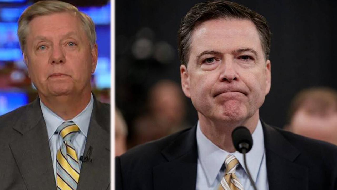 Sen. Graham: I hope IG report looks at FISA warrant abuse