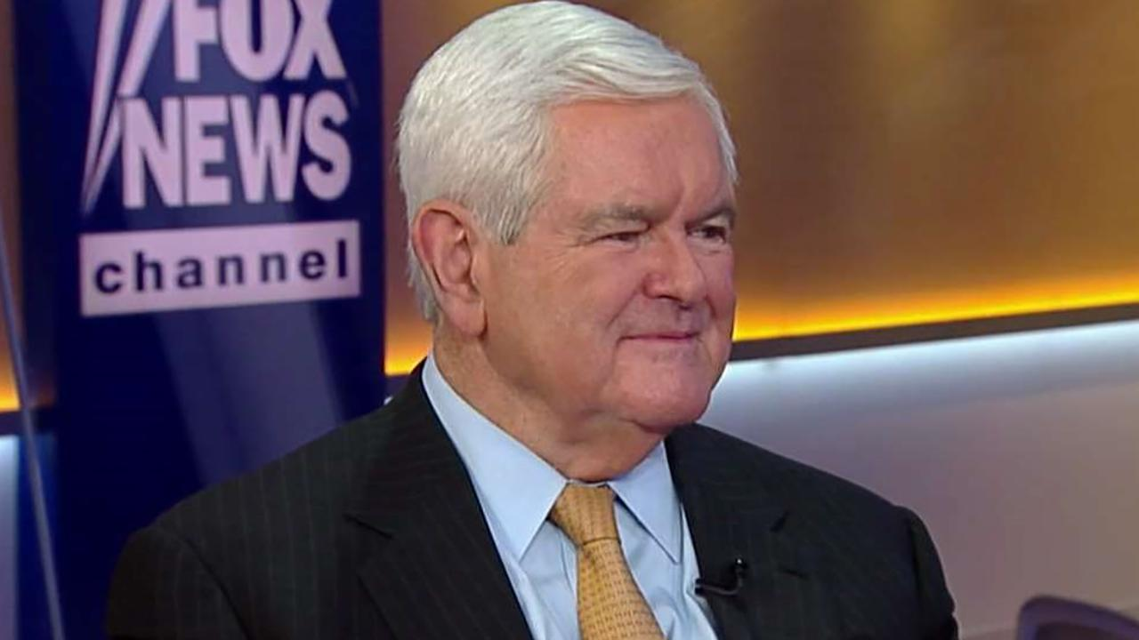 Newt Gingrich: We will see a red wave, not blue in November