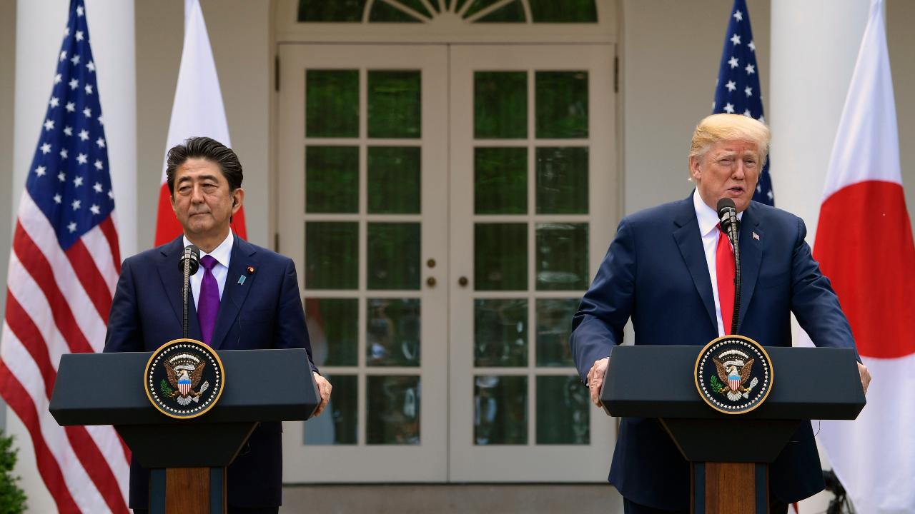 Trump: I've formed close working, personal ties with Abe