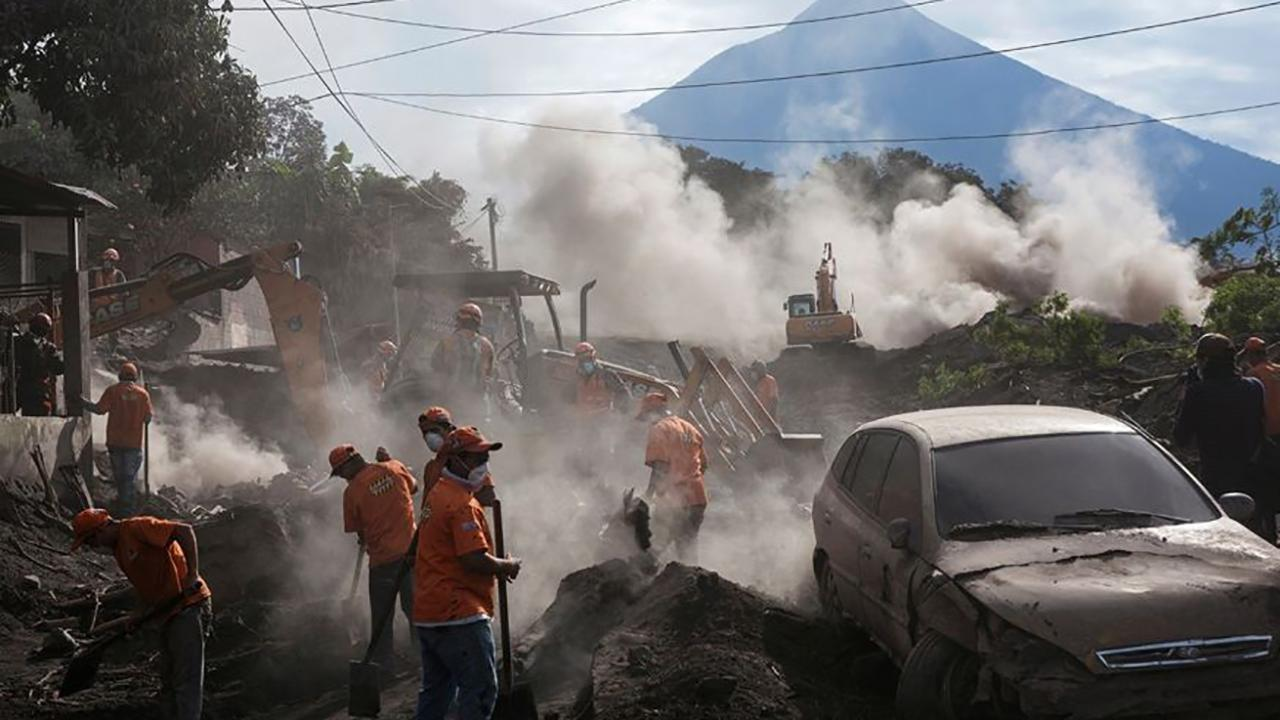 Search for Guatemala volcano victims halted; death toll hits 109