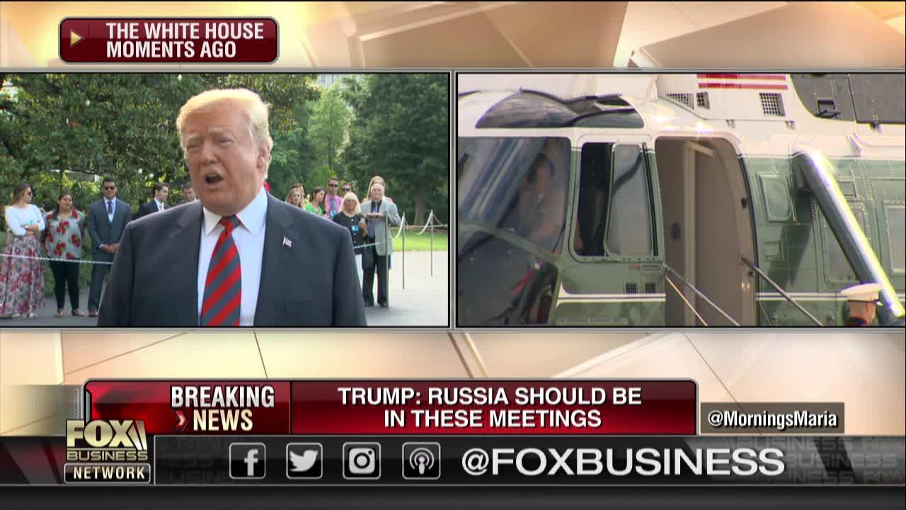 Trump talks N. Korea summit prep, Russia at G7, Muhammad Ali