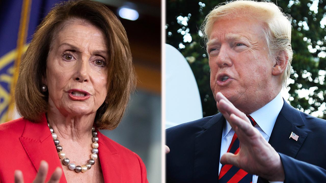Nancy Pelosi mocks the Trump economy
