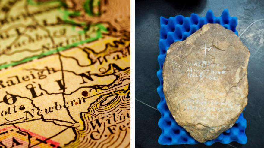 Roanoke colony mystery: Could this strange rock reveal the settlers' fate?
