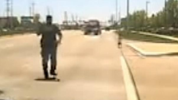 Illinois police officer saves child on busy road