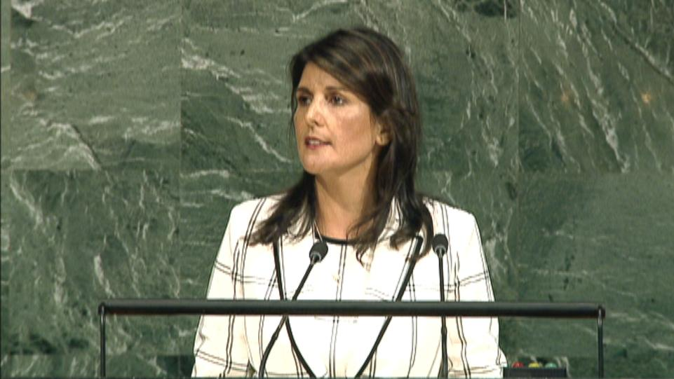 Cs go crack fix only haley says no one takes the un seriously as a force for middle east reheart Images