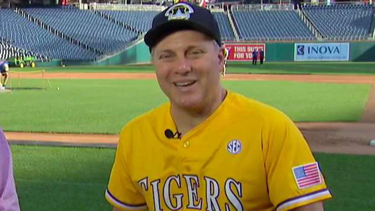 Scalise opens up on return to Congressional Baseball Game