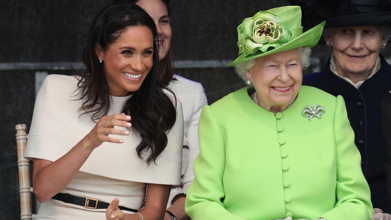 Meghan Markle shares first solo engagement with the Queen