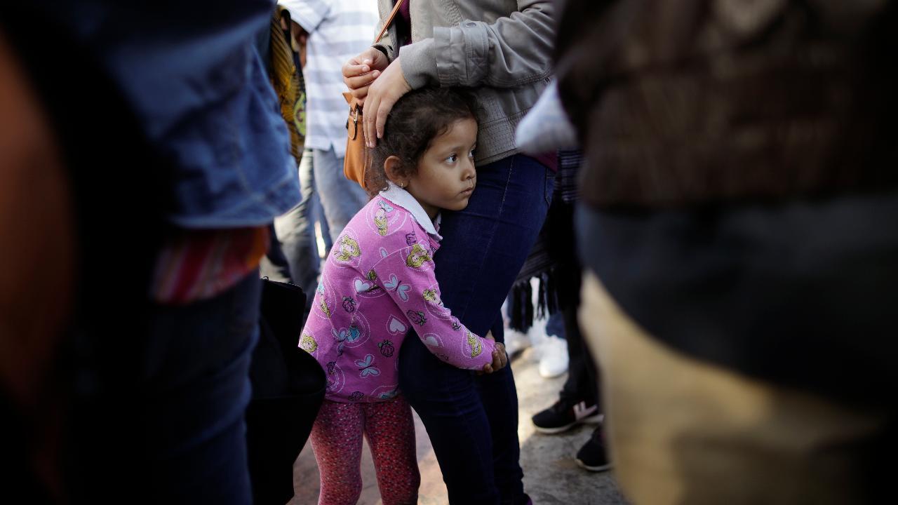 Trump blames Democrats for separation of families at border