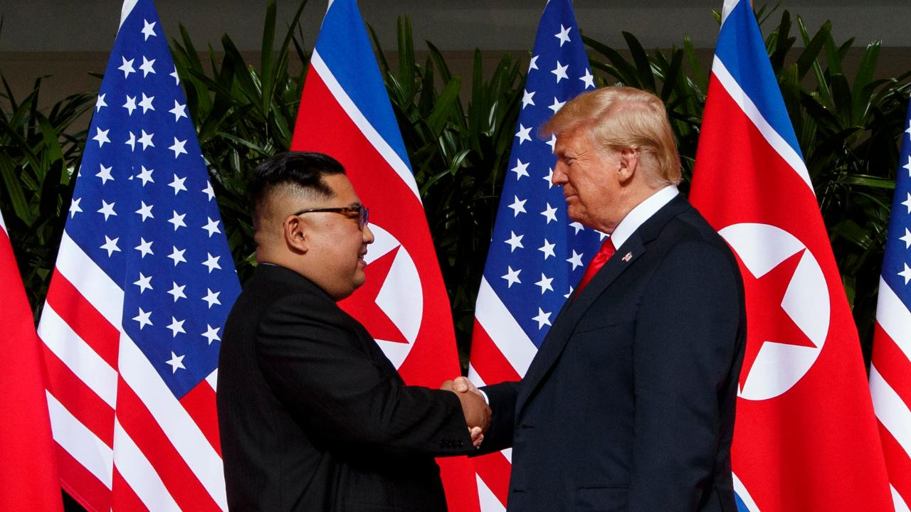 Media war over North Korea summit