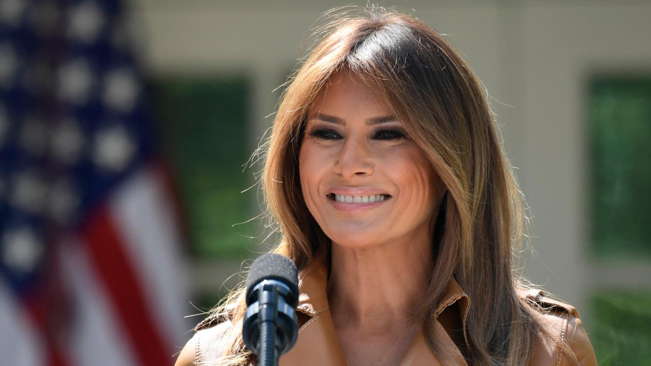 Melania reacts to immigrant families separated at the border