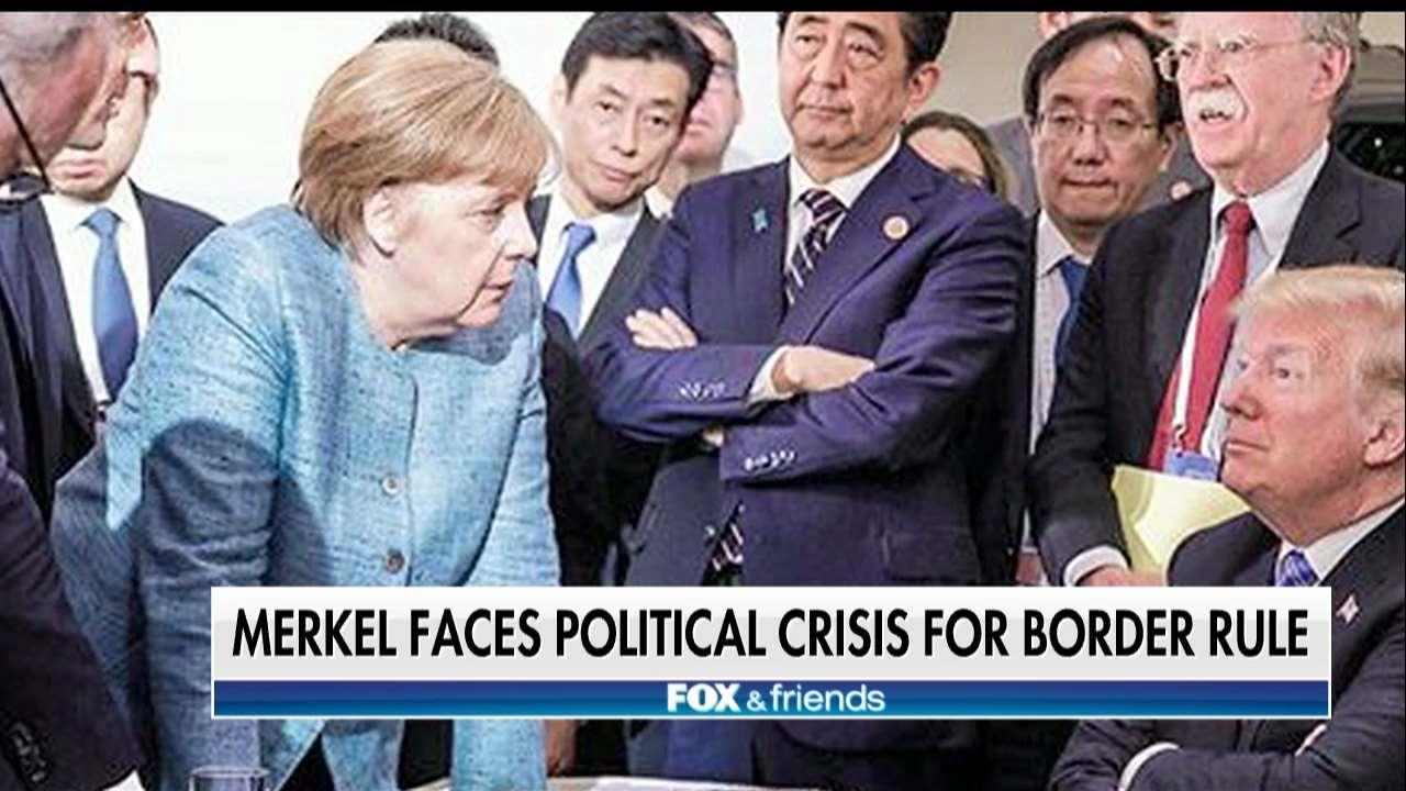 Merkel faces government collapse after anti-immigrant pushback.