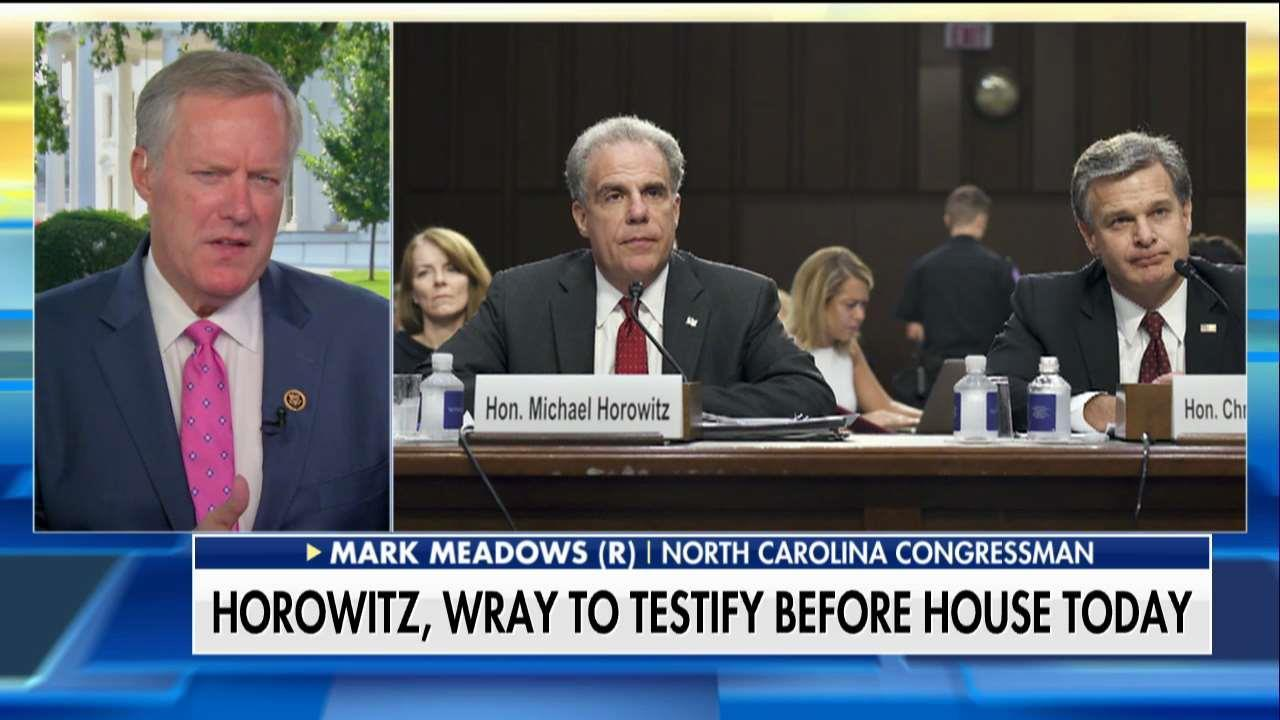 Mark Meadows Questions Why Peter Strzok Still With FBI