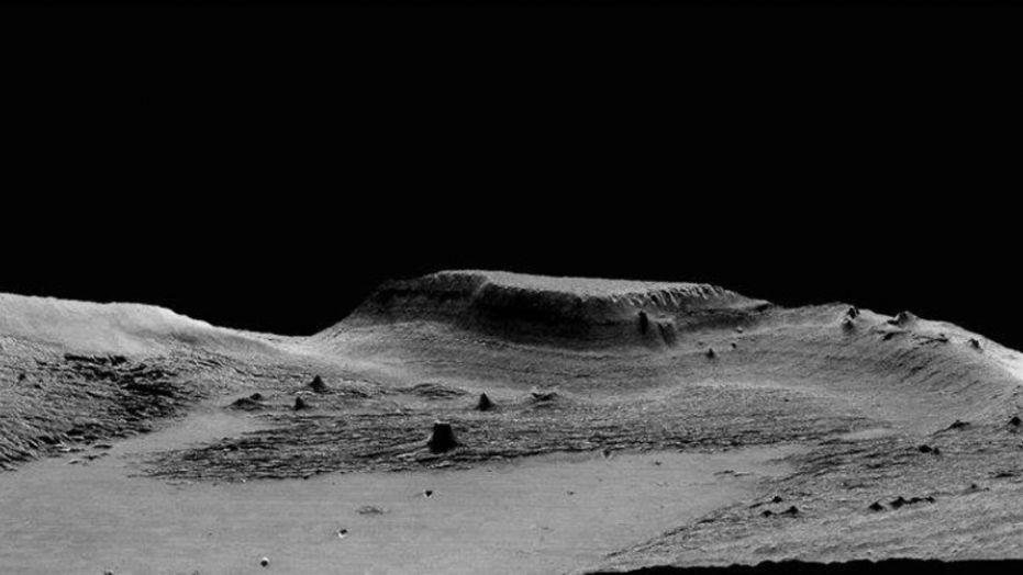 Mysterious Mars rock formation explained - and it doesn't involve UFOs